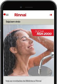 Aplicativo Rinnai